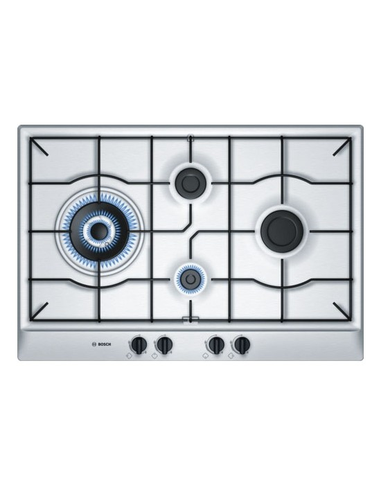 Serie | 6 PCI815B8TI 75 cm Stainless steel Gas hob with integrated controls