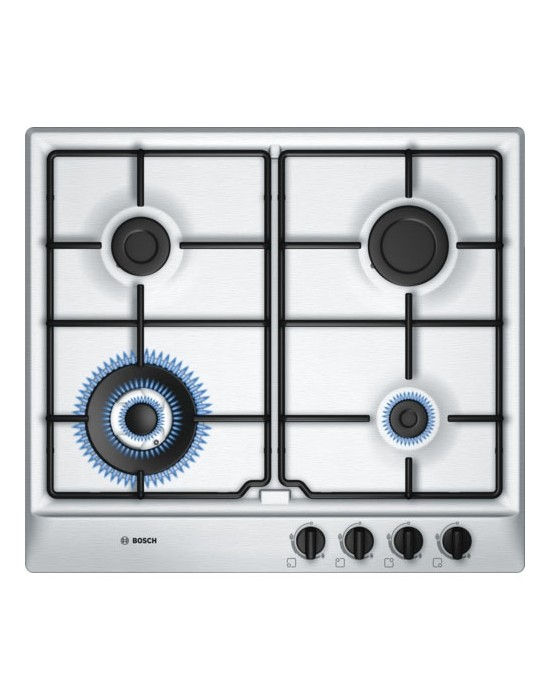 Serie | 6 PCH615B8TI 60 cm Stainless steel Gas hob with integrated controls