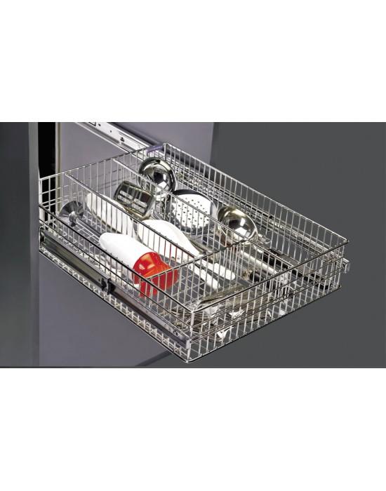 SS Designer Cutlery basket