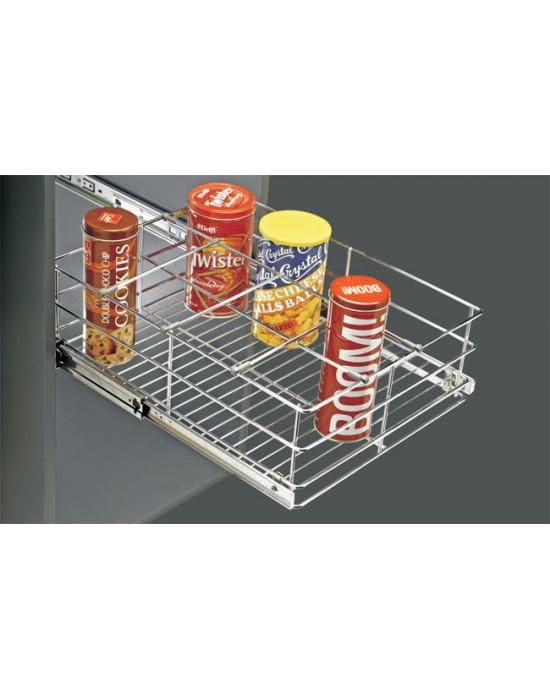 Designer Basket Bottle Rack